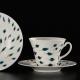 ręcznie malowane porcelanowe filiżanki