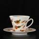 Two hand-painted cups Kashubian Gold