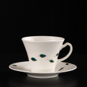 Hand-painted cup Blue Reminiscence