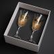 Pomysł na prezent ślubny ręcznie malowane kieliszki