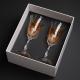 Pomysł na niepowtarzalny prezent ręcznie maloane kieliszki