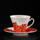 Hand-painted and decorated cups Lustful Touch with Swarovski Crystals