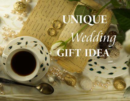 Unique wedding gift idea